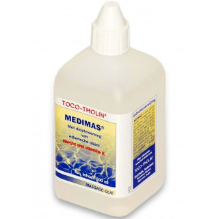 Toco-Tholin Medimas massage olie 500 ml