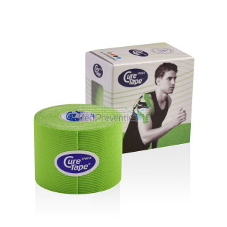 CureTape Sports Lime groen