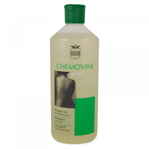 Chemovine massage olie 500ml