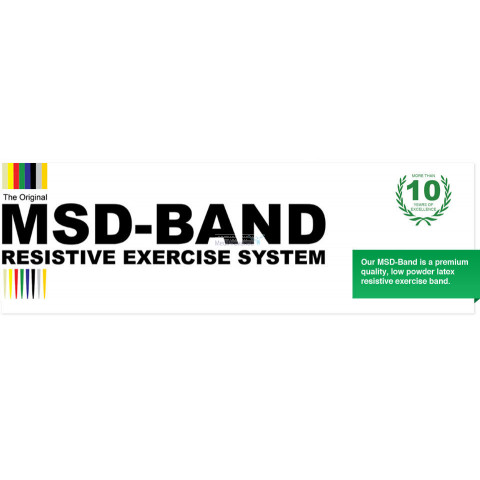 Fitnesselastiek MSD-Band