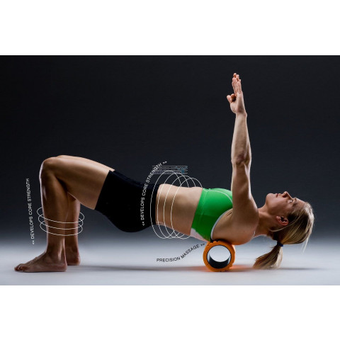 Foam roller the Grid voor trigger point therapie, massage en fitness