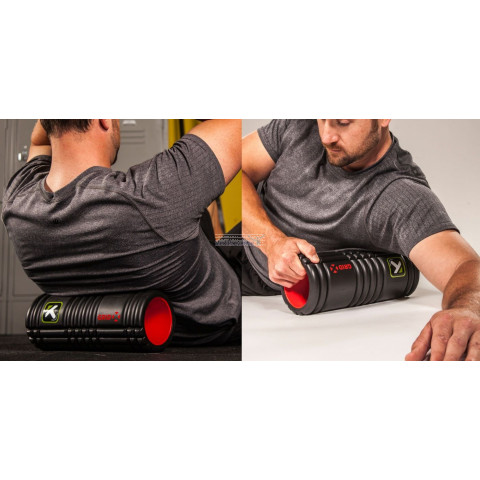 Foam roller the Grid X voor trigger point therapie, massage en fitness