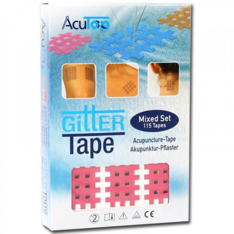 Gitter Tape mixed set AcuTop