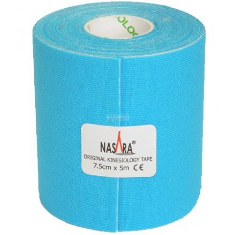 Kinesiologie tape Blauw extra breed