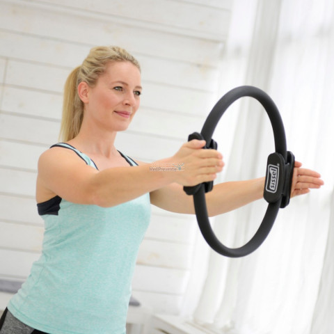 Pilates ring oefening