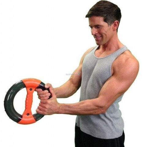 Deze armtrainer en polstrainer is ter behandeling van frozen shoulder