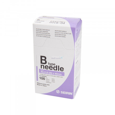 Seirin B-Type no.5 Dry Needling 0,25 x 40 mm