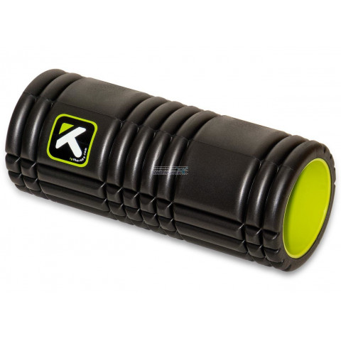 The Grid foam roller Zwart Black