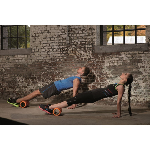 Trigger point therapy en massage met the Grid foam roller