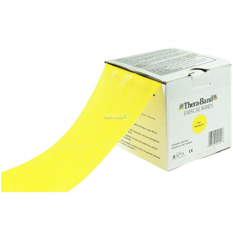 Thera-Band Licht Geel rol 45,5 meter