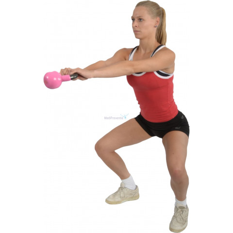 Trainen met kettle bells