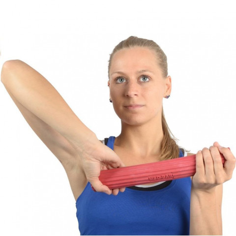 Flexibele exercise bar