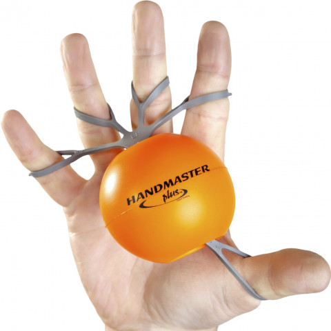 Hand oefening Orange