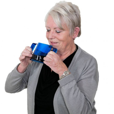 HandyCup Drinkbeker blauw Able2 Vrouw