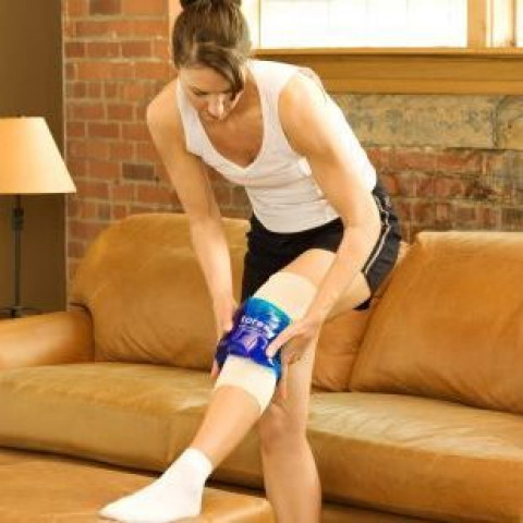 Hot cold pack knie Large