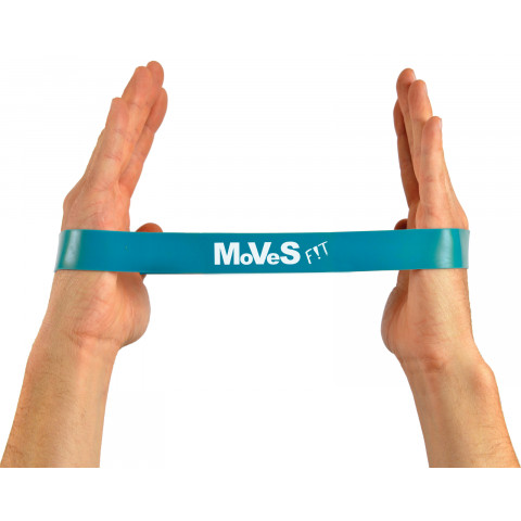 Mini bands Extra zwaar 10 st Lichtblauw Moves FIT
