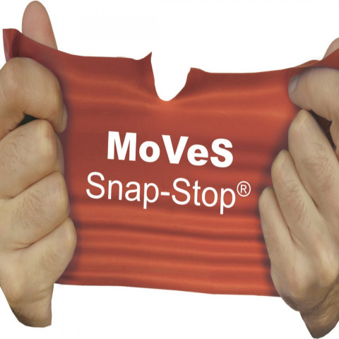 Moves band Snap Stop