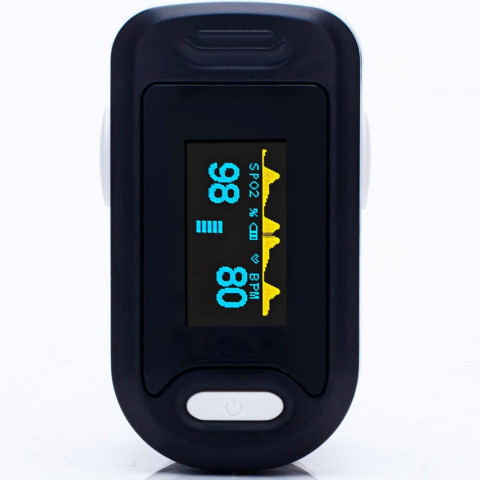 Pulse oximeter saturatiemeter