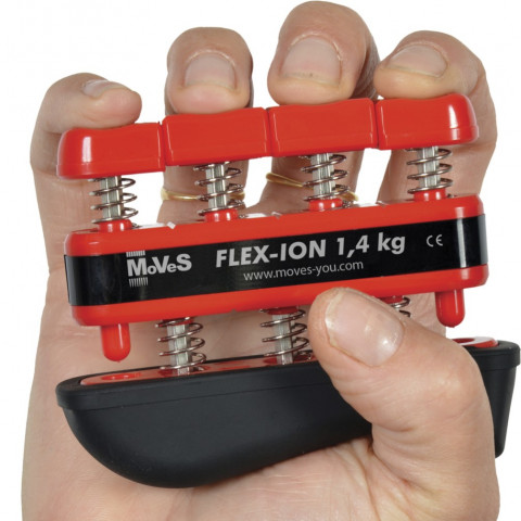 Vingertrainer MoVeS Flex Ion Medium Rood